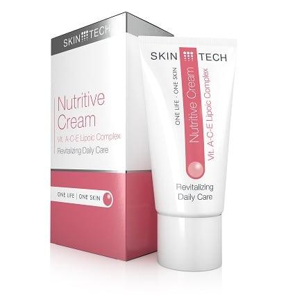 Nutritive vitamine A-C-E crème voor het verminderen van huidveroudering
