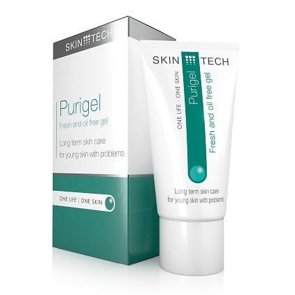 Purigel helpt (acné) onzuiverheden te voorkomen