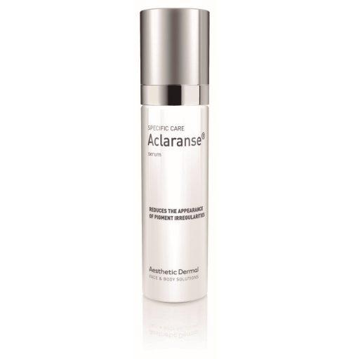 Aclaranse serum voorkomt hyperpigmentatie en vermindert pigmentvlekken