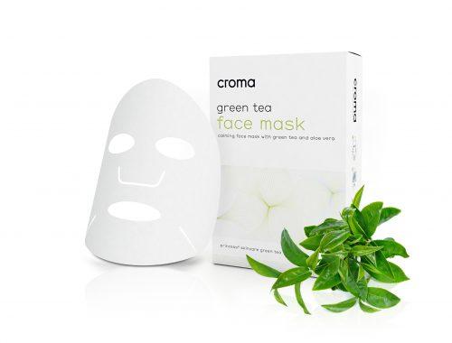 Princess kalmerend gezichtsmaker met groene thee en aloë vera(set 8 stuks)