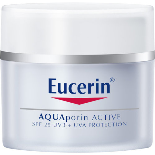 Eucerin AQUAporin Active Hydraterende Crème SPF 25+ UVA voor het herstellen van een vochtarme huid_50ml