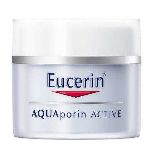 Eucerin AQUAporin Active Hydraterende Crème voor intense hydratie van de droge en gevoelige huid_50ml