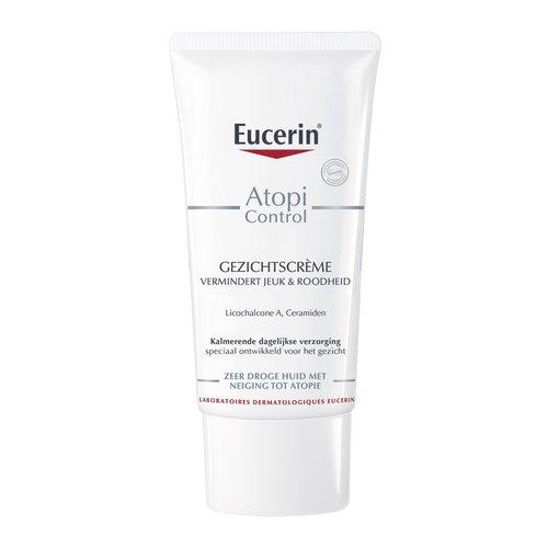 Eucerin Atopi Control Kalmerende gezichtscrème 12% vermindert jeuk en roodheid_50ml