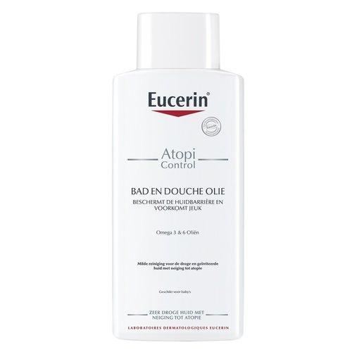 Eucerin AtopiControl Bad & Doucheolie herstelt de huidbarrière en beschermt deze tegen uitdroging_400ml