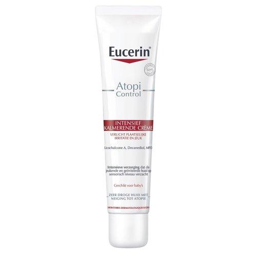 Eucerin AtopiControl Intensief Kalmerende Crème verzacht het jeukerig gevoel van de huid_40ml