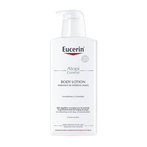 Eucerin AtopiControl Kalmerende Bodylotion die de atopische huid hydrateert en verzacht