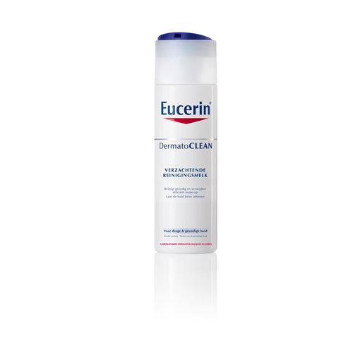 Eucerin DermatoCLEAN milde reinigingsmelk verwijdert onzuiverheden en make-up_200ml