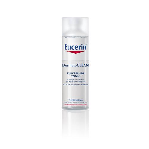 Eucerin DermatoClean Zuiverende Tonic verfrist de huid en laat deze beter ademen_200ml