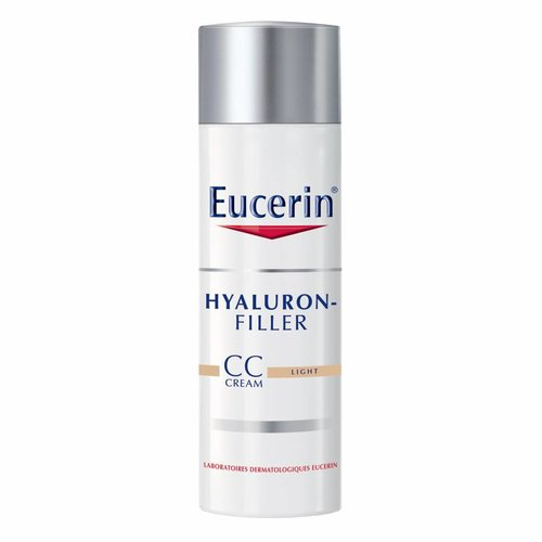 Eucerin Hyaluron-Filler Dagcrème CC CREAM Light vult rimpels op en corrigeert de teint en pigmentvlekken_50ml