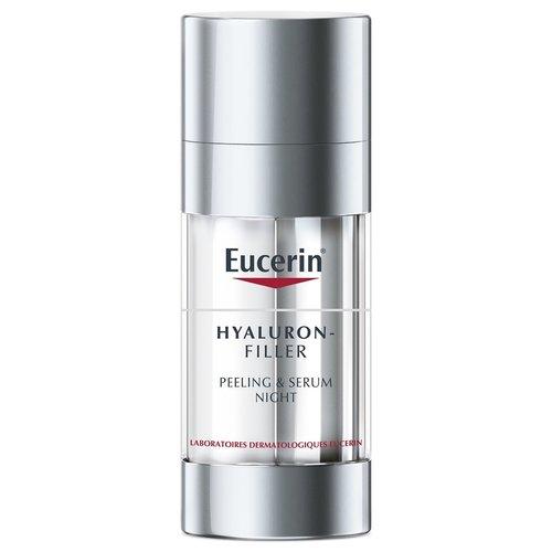 Hyaluron-Filler Peeling&Serum Nacht anti-ageverzorging met peeling-effect en hydraterend serum