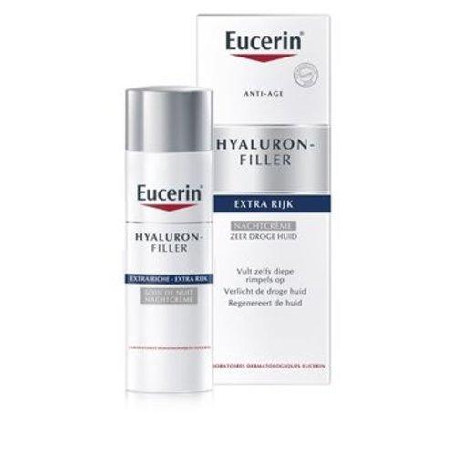 Eucerin Hyaluron-Filler Urea Nachtcrème voor de droge huid met rimpels_50ml
