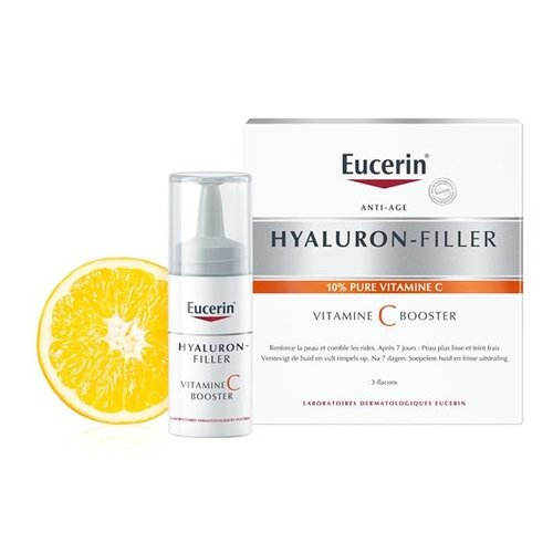 Hyaluron-Filler Vitamine C Booster anti-agingserum met 10% pure vitamine C