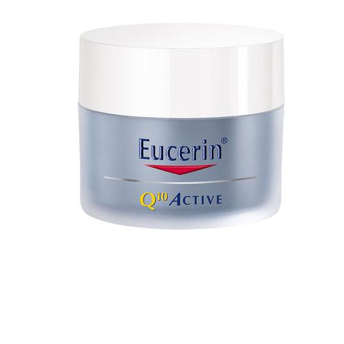 Eucerin Q10 ACTIVE Nachtcrème helpt diepte van rimpels en fijne lijntjes te verminderen_50ml