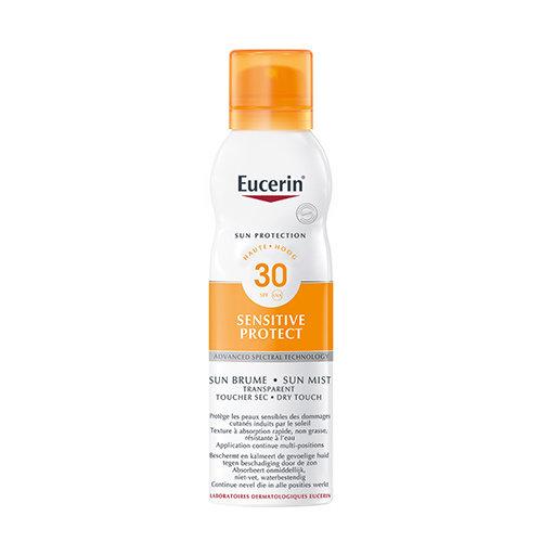Eucerin Sun Sensitive Protect Spray Transparant SPF 30 transparante zonbeschermingspray voor de gevoelige huid_200ml