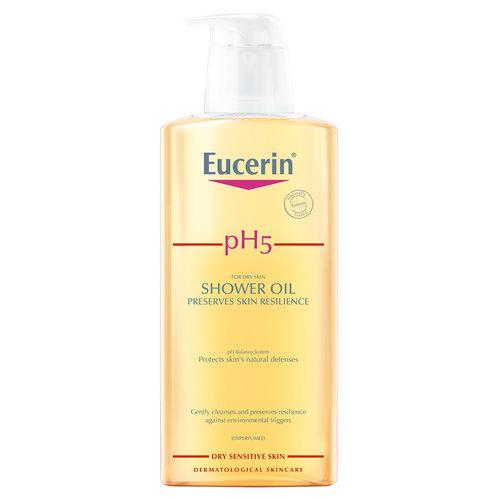 Eucerin pH5 Douche olie dagelijkse reinigingsolie voor behoudt van weerstand en beschermt tegen uitdroging