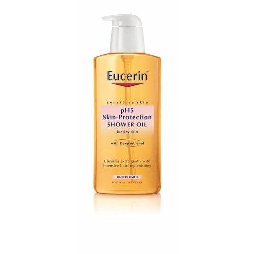 Eucerin pH5 Parfumvrije Douche olie dagelijkse reinigingsolie voor behoudt van weerstand en beschermt tegen uitdroging
