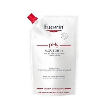 Eucerin pH5 Waslotion NAVUL voor reiniging en bescherming tegen uitdroging van de gevoelige huid_400ml