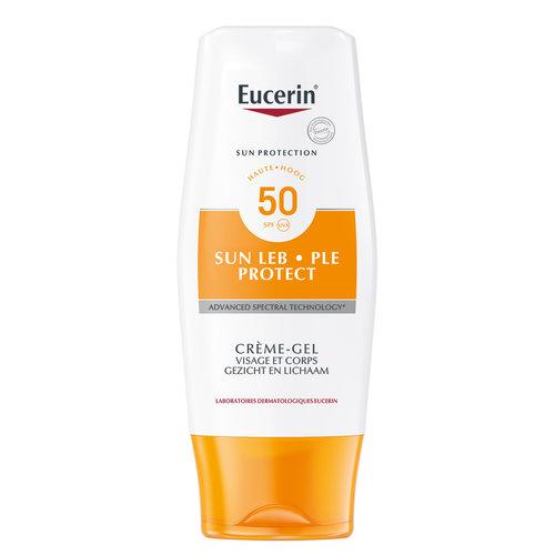 Sun PLE Protect Gel-Crème SPF 50 zonnebrandcrème met bescherming tegen huidreacties veroorzaakt door zon_150ml