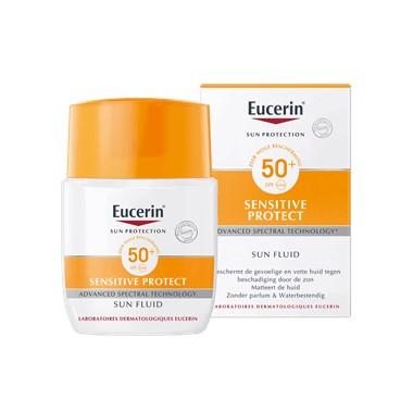 Sun Sensitive Protect Fluid SPF 50+ zonbescherming voor gevoelige en vette huid