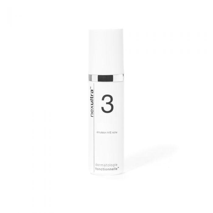 Universkin Nexultra 3 helpt de natuurlijke afweerfunctie van de huid alsmede de huidbarrière te herstellen