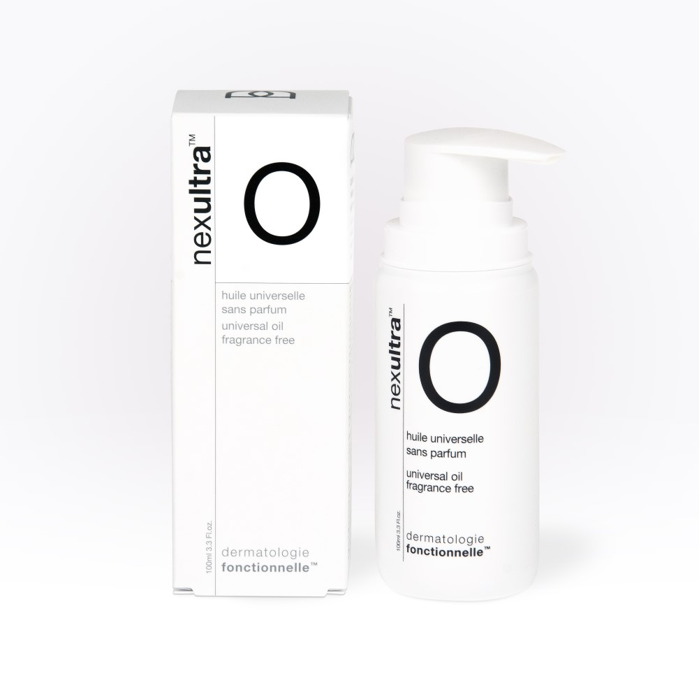 Universkin Nexultra O een multifunctionele reinigende en verzachtende olie