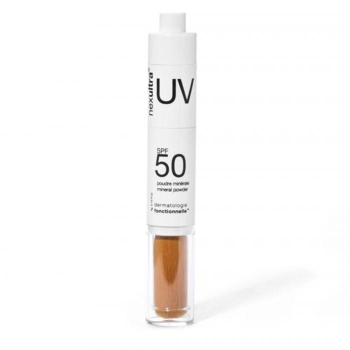 Universkin Nexultra UV SPF50 met uvA en uvB bescherming door een zonnefilter van uitsluitend minerale poeders