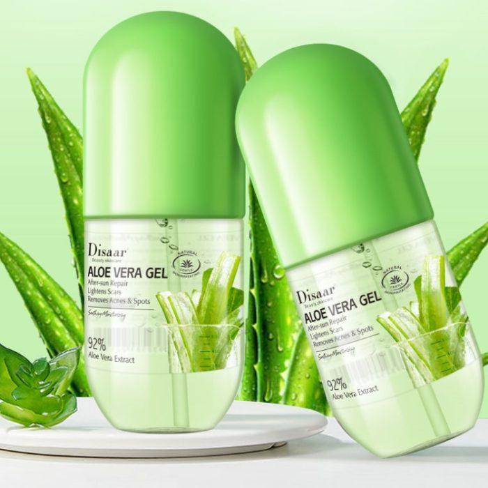 Aloë Vera 92% voor een optimale vochtbalans in uw huid in 280ml flacon - detail
