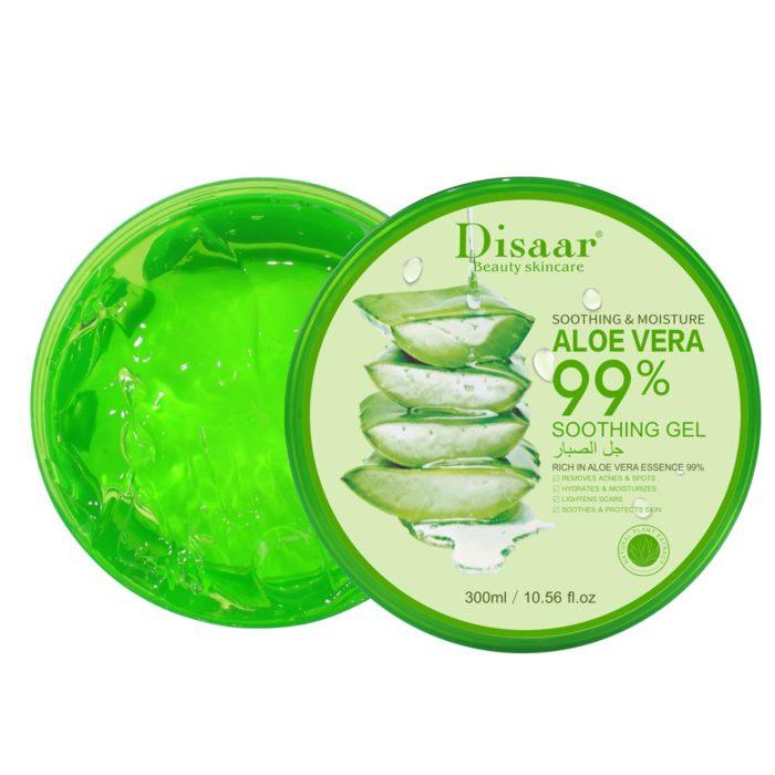 Aloë Vera 99% hydraterende, kalmerende en verzorgende gel